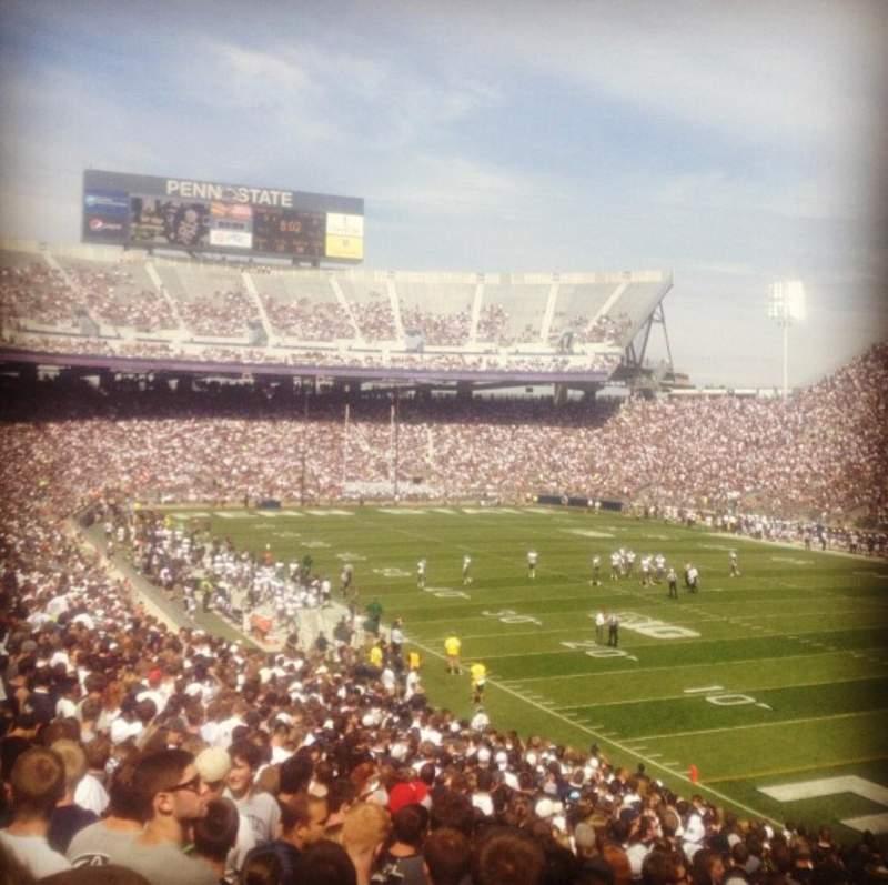 Beaver Stadium, section: SBU