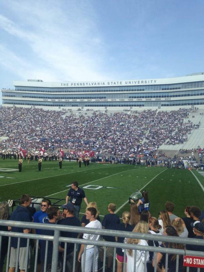Seating view for Beaver Stadium