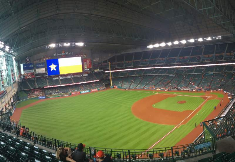Seating view for Minute Maid Park Section 407
