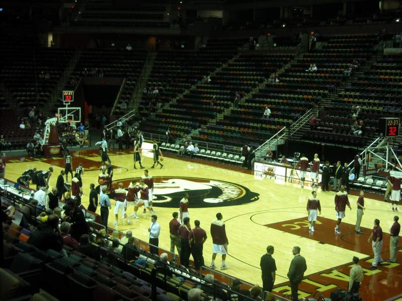 Seating view for Donald L. Tucker Center Section 115