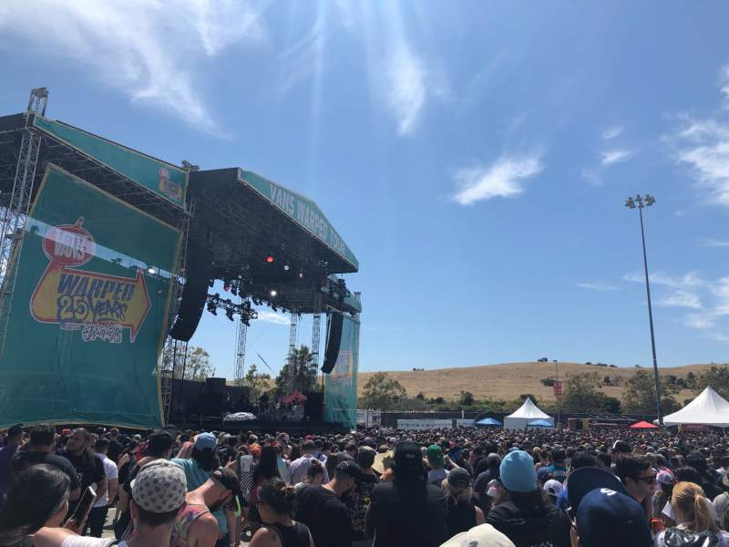 Seating view for Shoreline Amphitheatre Section GA