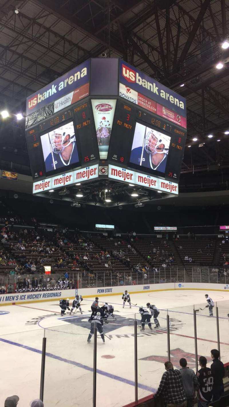 Seating view for Heritage Bank Center Section 108 Row L
