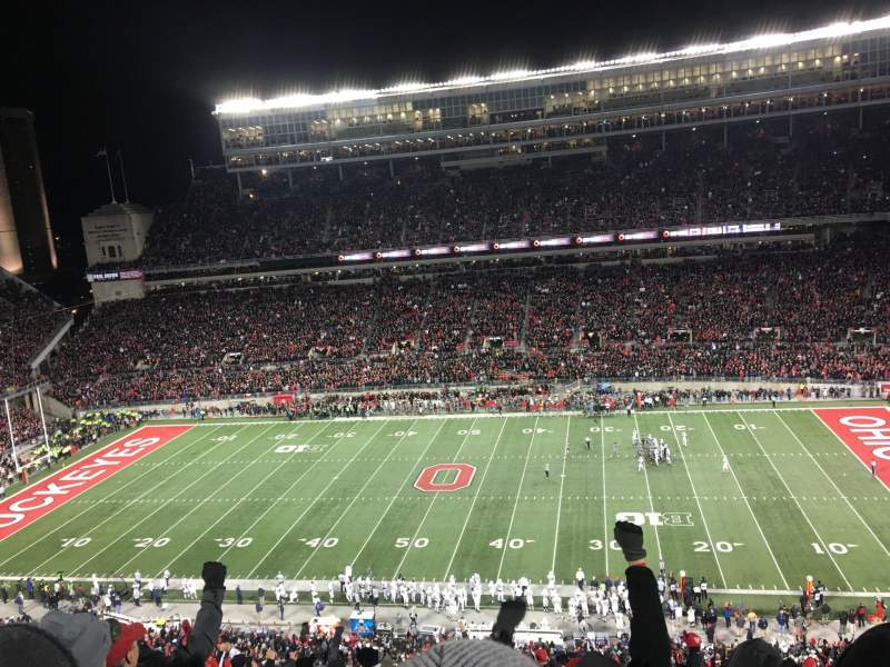 Seating view for Ohio Stadium Section 20C Row 16 Seat 6
