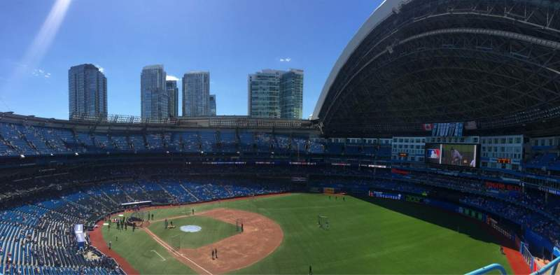 Seating view for Rogers Centre Section 512 Row 2