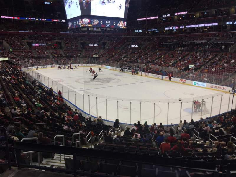 Seating view for BB&T Center Section 112 Row 21 Seat 13