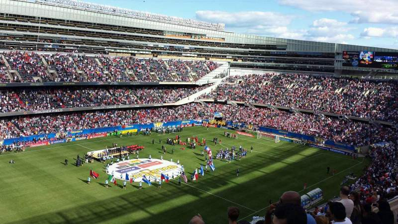 Seating view for Soldier Field Section 442 Row 6 Seat 14