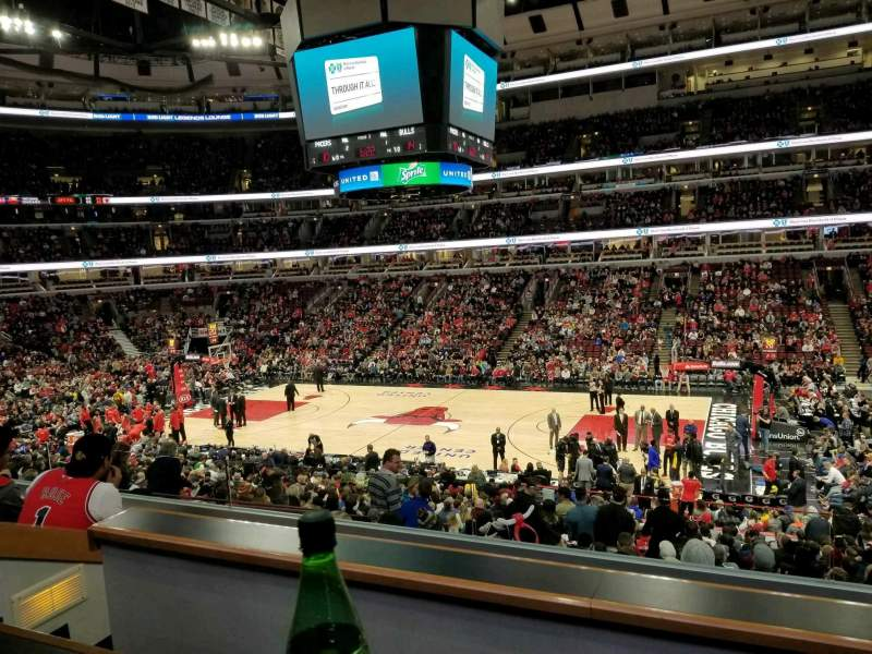 Seating view for United Center Section L57