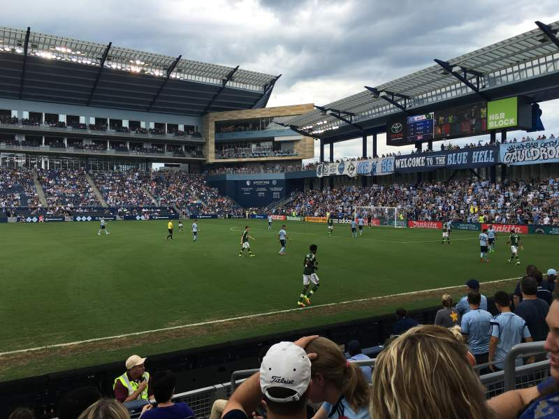 Children's Mercy Park, section: 130, row: 7, seat: 20