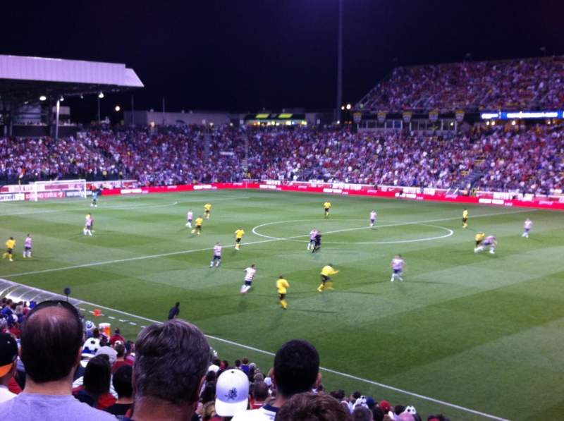 Seating view for Mapfre Stadium Section 122 Row 22 Seat 2