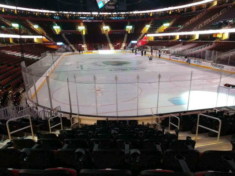 Seating view for Rocket Mortgage FieldHouse Section 115 Row 11 Seat 5