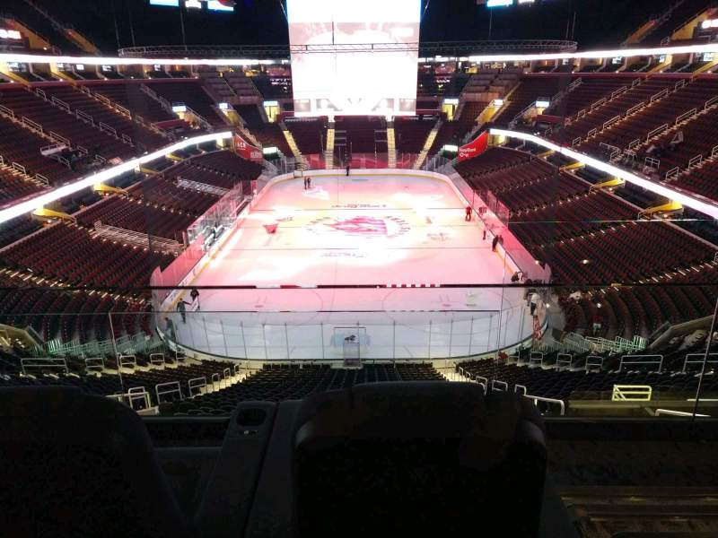 Seating view for Rocket Mortgage FieldHouse Section TB 10B Row 2 Seat 1