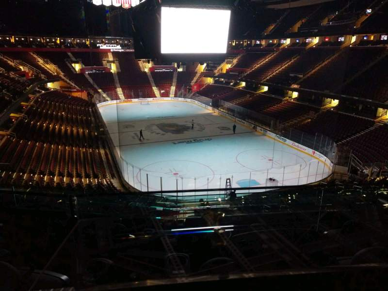 Seating view for Rocket Mortgage FieldHouse Section LB6 Row 4 Seat 5