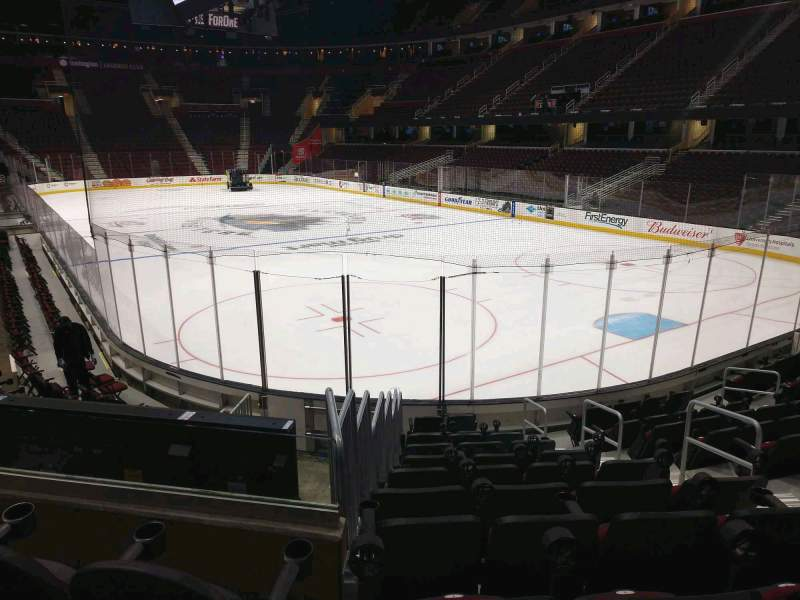 Seating view for Rocket Mortgage FieldHouse Section 116 Row 11 Seat 6