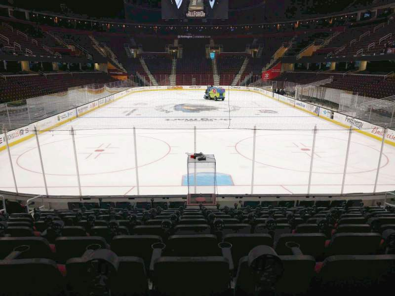 Seating view for Rocket Mortgage FieldHouse Section 114 Row 11 Seat 11