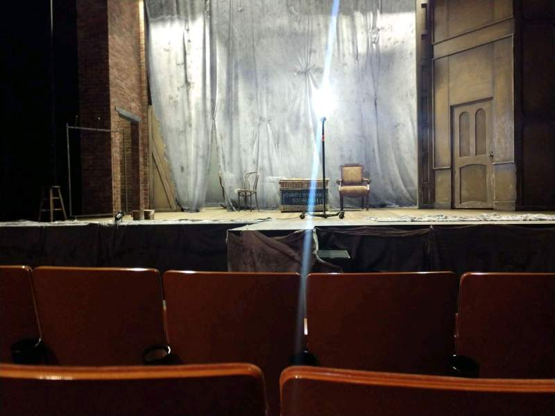 Seating view for Allen Theatre Section Orchestra Row E Seat 208