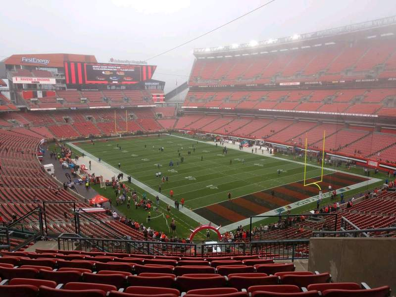 Seating view for FirstEnergy Stadium Section 342 Row 15 Seat 9