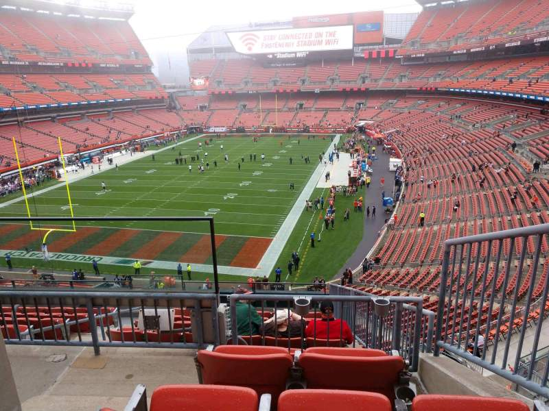 Seating view for FirstEnergy Stadium Section 323 Row 10 Seat 2