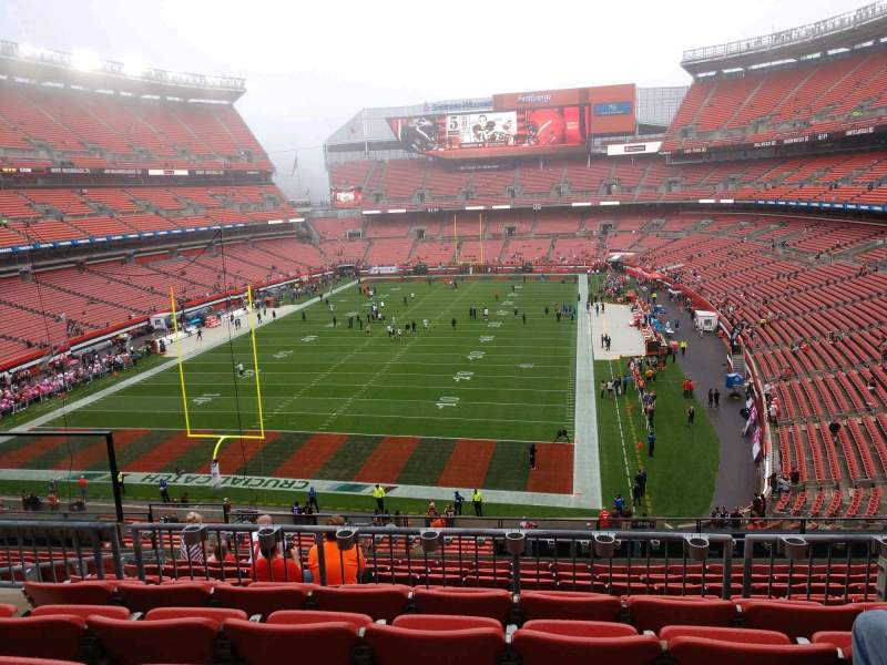 Seating view for FirstEnergy Stadium Section 322 Row 11 Seat 6