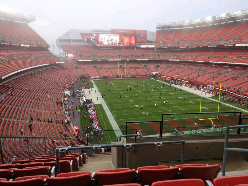 Seating view for FirstEnergy Stadium Section 317 Row 15 Seat 4