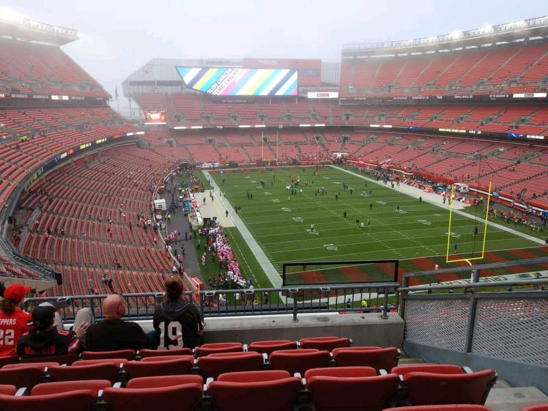 Seating view for FirstEnergy Stadium Section 317A Row 6 Seat 11
