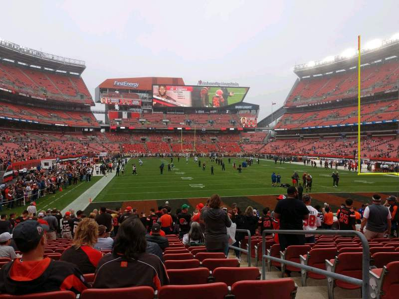 Seating view for FirstEnergy Stadium Section 145 Row 15 Seat 21