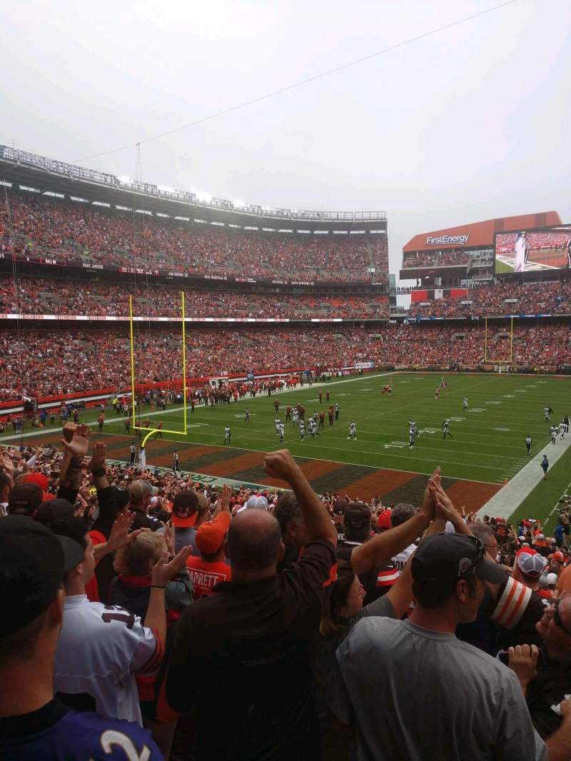 Seating view for FirstEnergy Stadium Section 149 Row 30 Seat 25