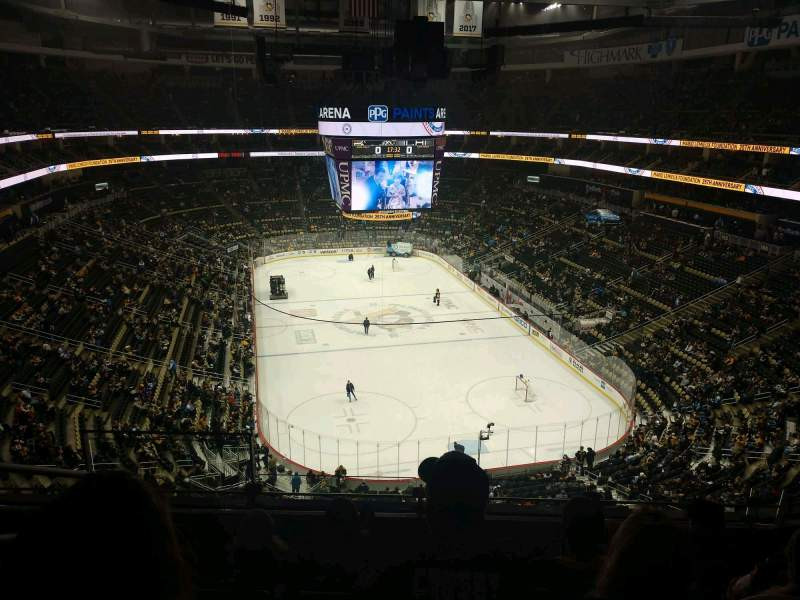 Seating view for PPG Paints Arena Section 212 Row E Seat 15