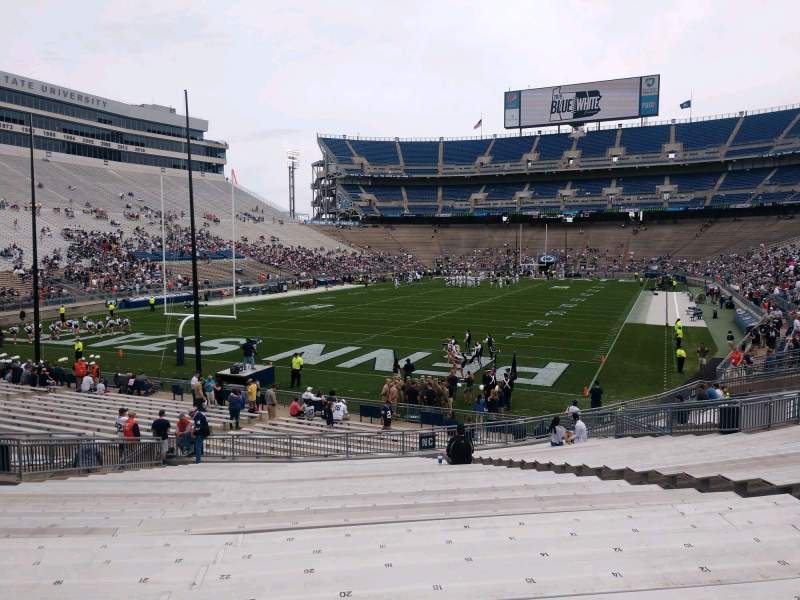 Seating view for Beaver Stadium Section NC Row 29 Seat 22