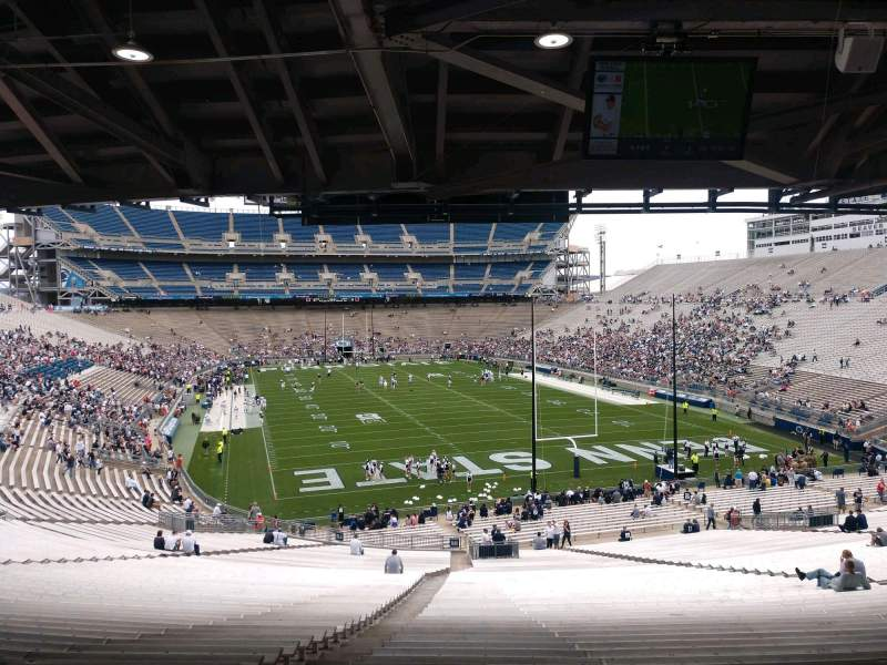 Seating view for Beaver Stadium Section NH Row 60 Seat 5