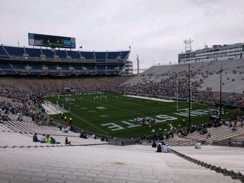 Seating view for Beaver Stadium Section NJ Row 49 Seat 14