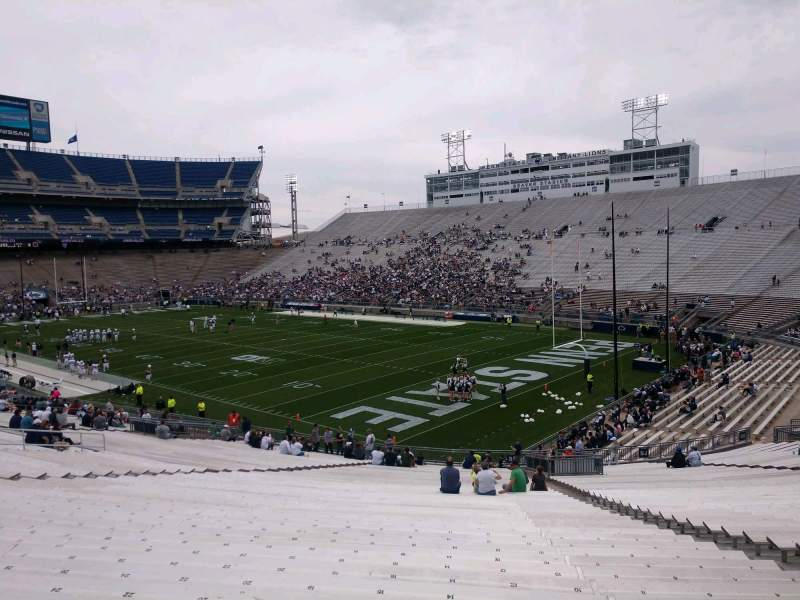 Seating view for Beaver Stadium Section NK Row 49 Seat 14