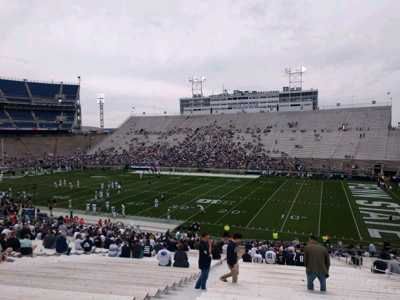 Seating view for Beaver Stadium Section EH Row 30 Seat 5