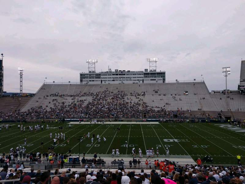 Seating view for Beaver Stadium Section EF Row 30 Seat 16