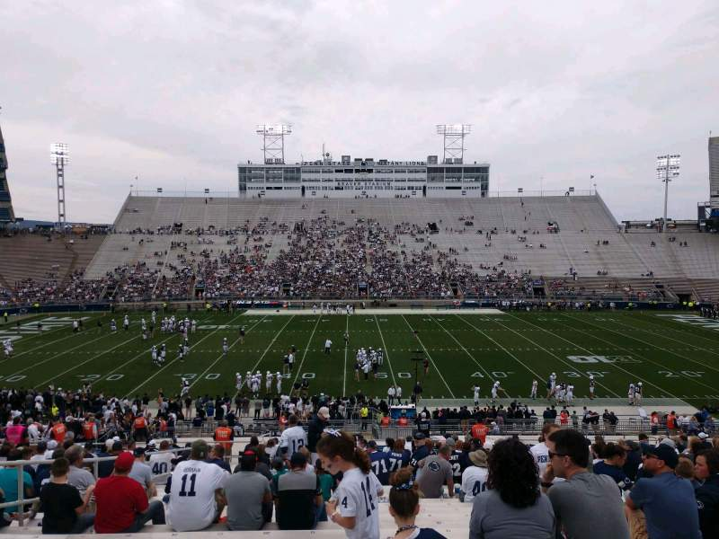 Seating view for Beaver Stadium Section EE Row 34 Seat 16