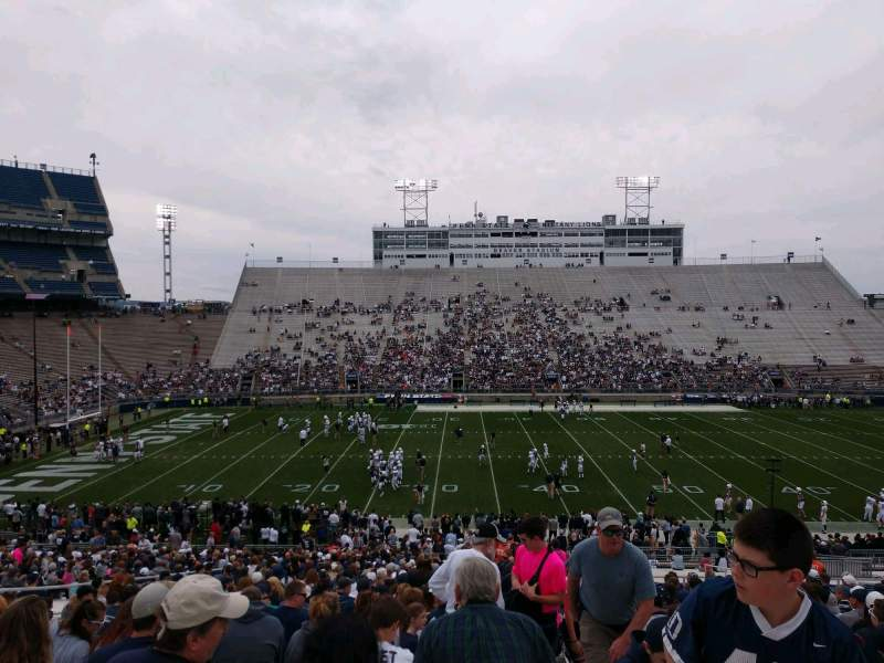 Seating view for Beaver Stadium Section ED Row 33 Seat 2