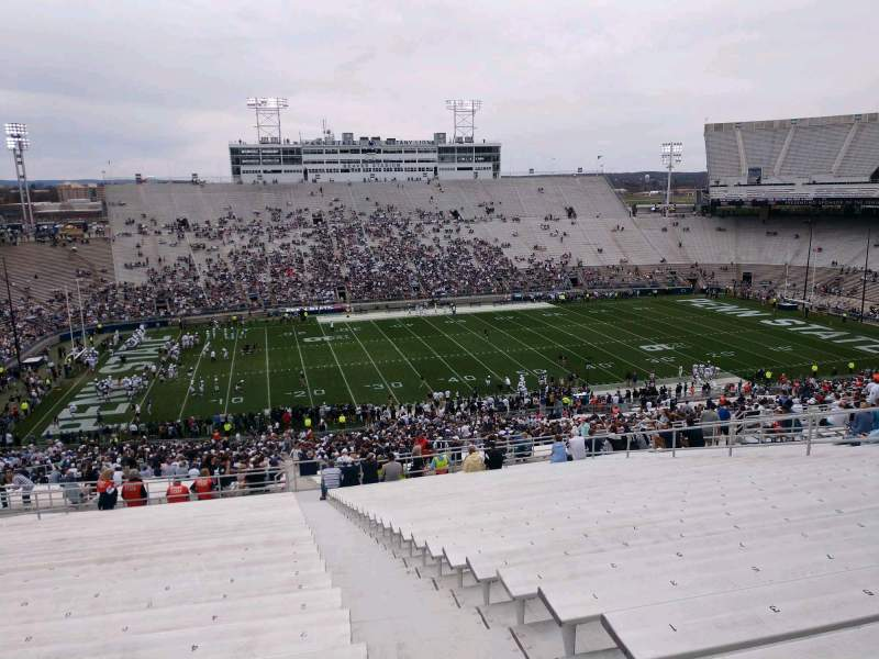 Seating view for Beaver Stadium Section ECU Row 70 Seat 2