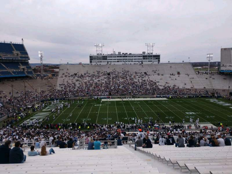 Seating view for Beaver Stadium Section EDU Row 70 Seat 6