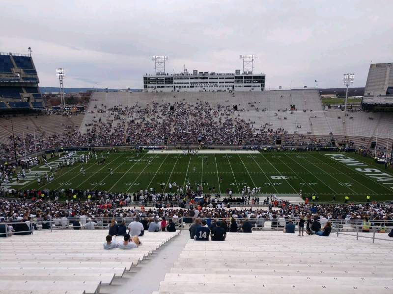 Seating view for Beaver Stadium Section EEU Row 70 Seat 3