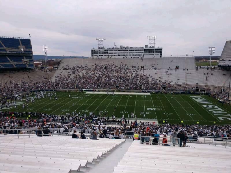 Seating view for Beaver Stadium Section EFU Row 70 Seat 3