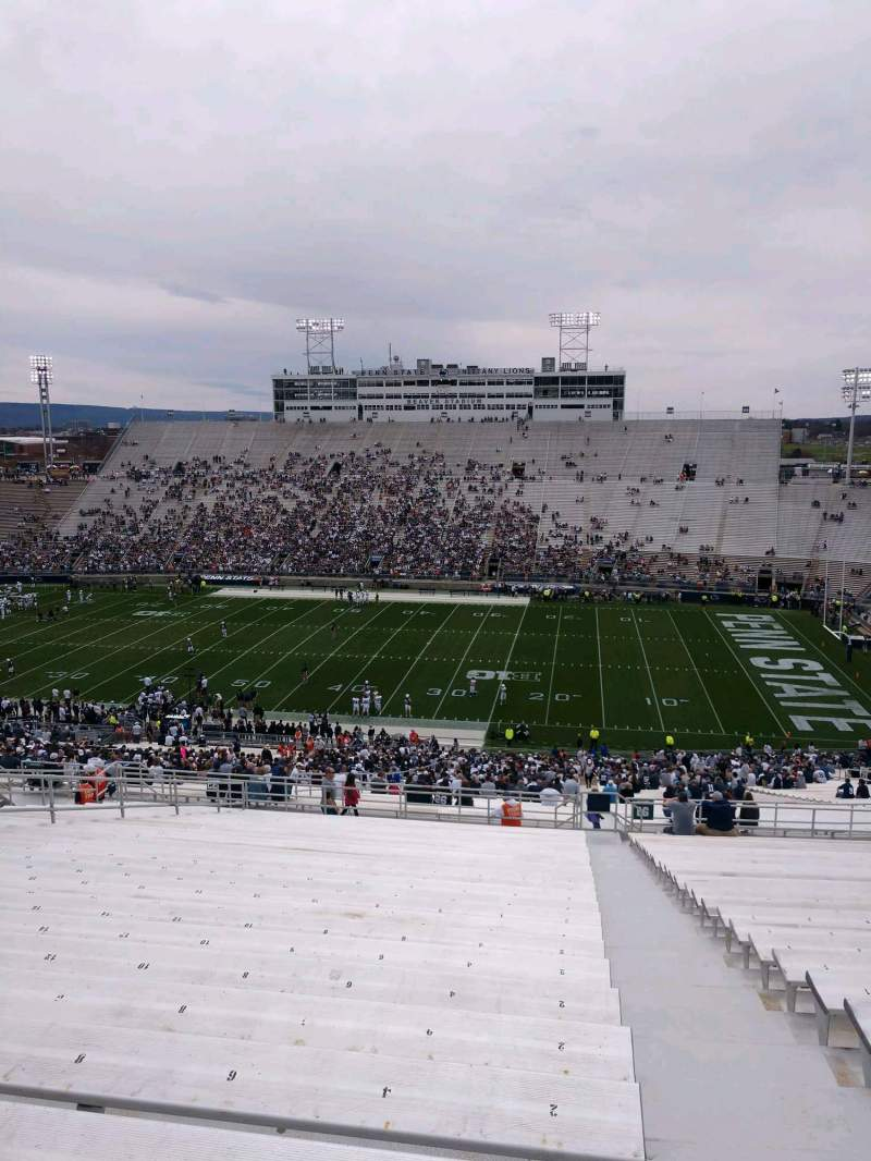 Seating view for Beaver Stadium Section EGU Row 70 Seat 2