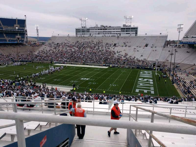 Seating view for Beaver Stadium Section EJU Row 51 Seat 28