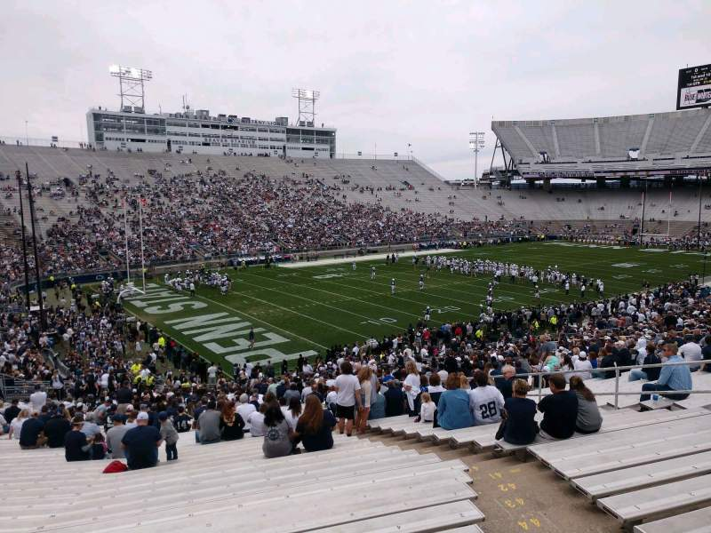 Seating view for Beaver Stadium Section SA Row 50 Seat 2
