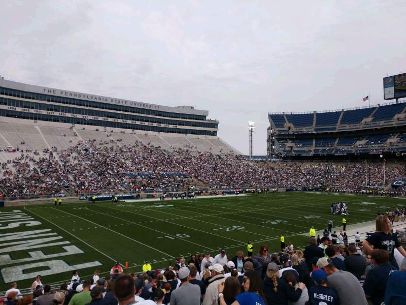 Seating view for Beaver Stadium Section WJ Row 8 Seat 24