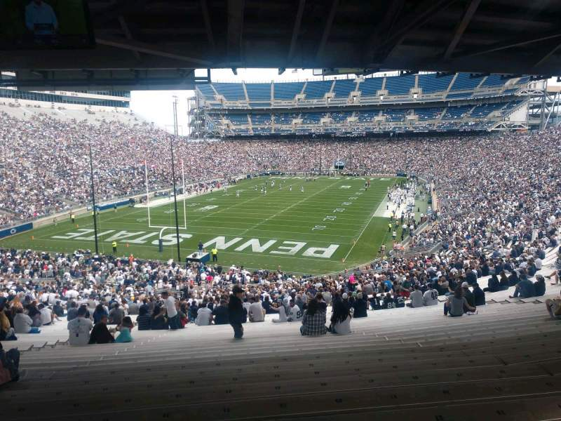 Seating view for Beaver Stadium Section ND Row 60 Seat 21