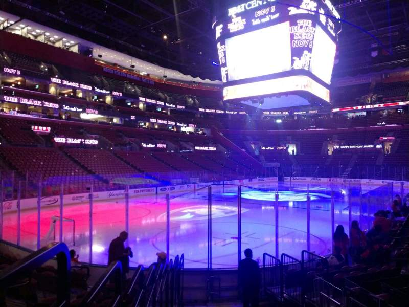 Seating view for BB&T Center Section 107 Row 11 Seat 6