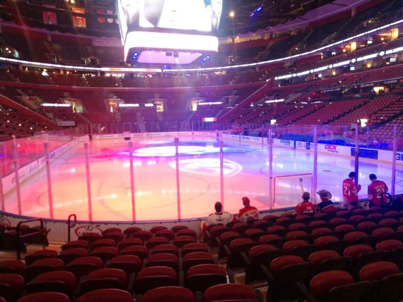 Seating view for BB&T Center Section 111 Row 10 Seat 13