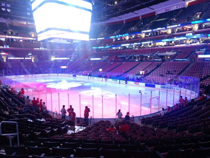 Seating view for BB&T Center Section 112 Row 17 Seat 10
