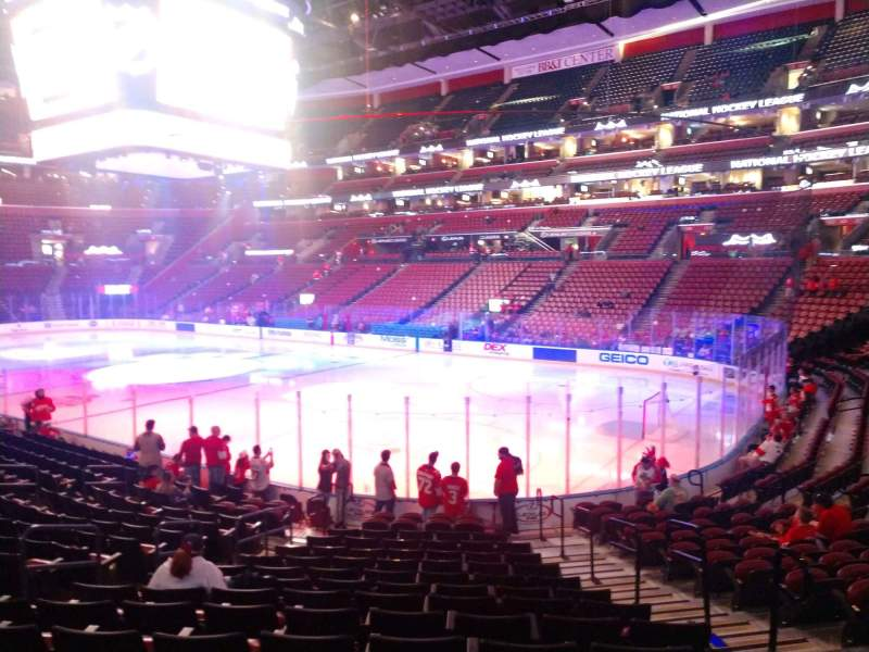 Seating view for BB&T Center Section 114 Row 16 Seat 6
