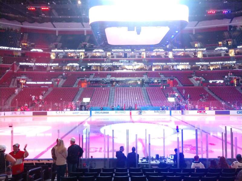 Seating view for BB&T Center Section 118 Row 12 Seat 11
