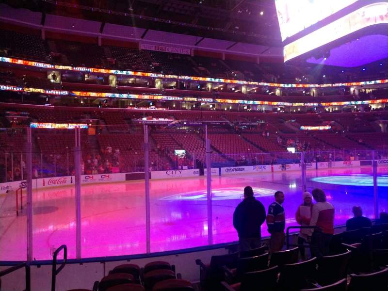 Seating view for BB&T Center Section 121 Row 7 Seat 7